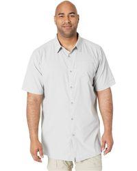 5e0e6de527a Nau Parallelogram Long Sleeve Shirt (tide Plaid) Long Sleeve Button Up in  Blue for Men - Lyst