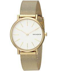Skagen - Signatur - Skw2693 (gold) Watches - Lyst