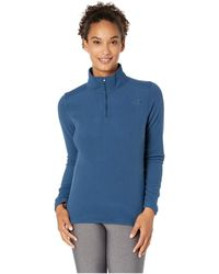ecf296a9335 Lyst - The North Face Agave 1 4 Snap (patriot Blue Heather (prior ...