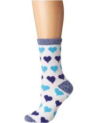 Karen Neuburger Heart Sock - Blue