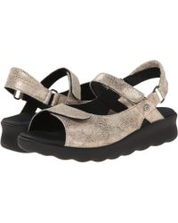 Wolky - Pichu (blue Circles) Women's Sandals - Lyst