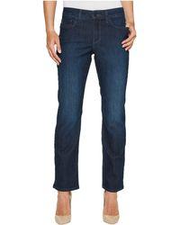 NYDJ - Petite Hayley Straight In Burbank (burbank) Women's Jeans - Lyst