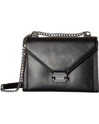 MICHAEL Michael Kors - Whitney Large Shoulder (black) Shoulder Handbags -  Lyst 3d7859fa32