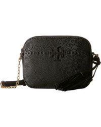 Tory Burch - Mcgraw Camera Bag (devon Sand) Bags - Lyst