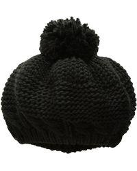 San Diego Hat Company - Knh3491 Beanie With Pom (black) Beanies - Lyst