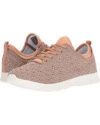 Not Rated - Dessa (rose Gold Knit) Women's Shoes - Lyst