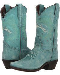 Laredo - Riled Up (turquoise) Cowboy Boots - Lyst