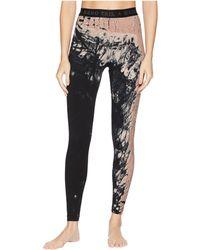 Hard Tail - Logo Yoga Leggings (diagonal Butterfly 1) Women's Casual Pants - Lyst