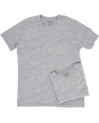 Richer Poorer - Pocket Tee 2-pack (natural) Men's T Shirt - Lyst