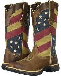 Durango | Lady Rebel Patriotic Pull-on Western Flag Boot Lady Rebel Patriotic Pull-on Western Flag Boot | Lyst