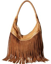 Scully - Oh So Soft Leather Fringe Bag - Lyst