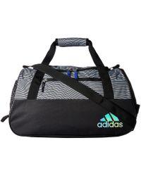 adidas - Squad Iii Duffel (mystery Ink Blue Jersey/black) Duffel Bags - Lyst