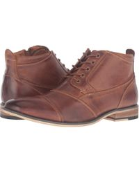 Steve Madden - Jabbar (dark Brown) Men's Lace Up Casual Shoes - Lyst