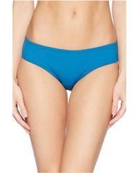 Vince Camuto - Shore Shades Shirred Smooth Fit Cheeky Bikini Bottom (fig) Women's Swimwear - Lyst