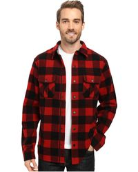 Smartwool - Anchor Line Shirt Jacket (crimson) Men's Clothing - Lyst