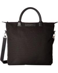Want Les Essentiels De La Vie - Ohare Shopper Tote (black/black) Tote Handbags - Lyst