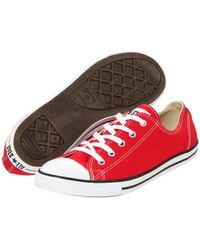Converse - 555987c Chuck Taylor All Star Dainty Pastel Red - Lyst