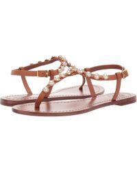 b2f2656861a Tory Burch - Emmy Pearl Sandal (perfect Black) Women s Sandals - Lyst