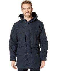 Fjallraven - Sarek Trekking Jacket (dark Navy) Men's Coat - Lyst