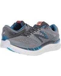 Lyst - New Balance 520 Nb Grey Running Shoes Wl520gy Black/metallic ...