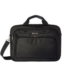 Samsonite - Xenon 3 Two Gusset Brief - Checkpoint Friendly (black) Briefcase Bags - Lyst