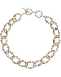 Lauren by Ralph Lauren - Link Toggle Necklace (gold) Necklace - Lyst