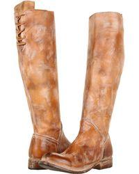 Bed Stu - Manchester Ii (black Lux) Women's Zip Boots - Lyst
