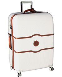 Delsey - Chatelet Hard - 28 Spinner Trolley (champagne) Luggage - Lyst