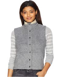 Toad&Co - Sheridan Sherpa Vest (grey Heather) Women's Vest - Lyst