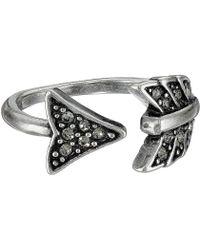 House of Harlow 1960 - Arrow Affair Midi Ring (silver) Ring - Lyst