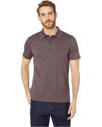 Toad&Co Tempo Short Sleeve Polo - Brown