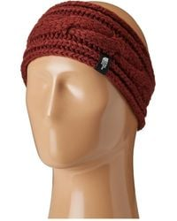 The North Face - Cable Eargear (barolo Red (prior Season)) Headband - Lyst