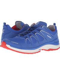 Lowa - Innox Evo (blue/red) Men's Shoes - Lyst
