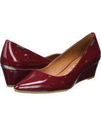 Calvin Klein - Germina (desert Sand Patent) Women's Shoes - Lyst