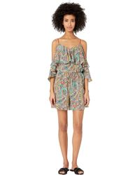 627142b271f Etro - Briza Jumpsuit Cover-up (gold) Women s Swimsuits One Piece - Lyst