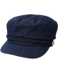 bb3bcabfa Lyst - Hat Attack Emmy Cadet Cap W/ Interchangeable Rope Band ...