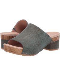 3826194bd8110 Lyst - Clarks Ralene Vive Full Grain Leather Slingback Sandals in Black