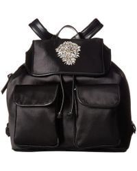 Badgley Mischka - Gamma Satin Nylon Backpack (black) Backpack Bags - Lyst