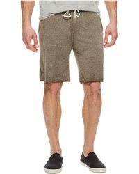 Threads For Thought - Burnout Fleece Shorts (bark) Men's Shorts - Lyst