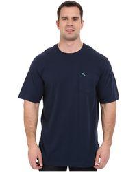 Tommy Bahama - Big Tall New Bali Skyline T-shirt (charcoal Heather) Men's T Shirt - Lyst