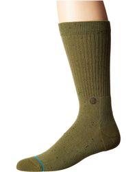 Stance - Icon 2 (violet) Men's Crew Cut Socks Shoes - Lyst