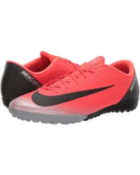 Nike - Vapor 12 Academy Cr7 Mg (bright Crimson/black/chrome/dark Grey) Men's Soccer Shoes - Lyst