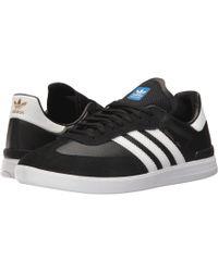 0a4cbd1be8dc adidas Originals - Samba Adv (core Black footwear White bluebird) Men s  Skate