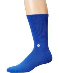 Stance - Icon (pastel Pink) Men's Crew Cut Socks Shoes - Lyst
