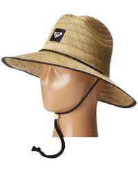 Roxy - Tomboy 2 Sun Hat (true Black) Traditional Hats - Lyst