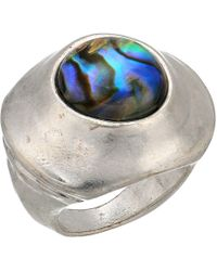 Robert Lee Morris - Abalone Statement Ring (abalone) Ring - Lyst