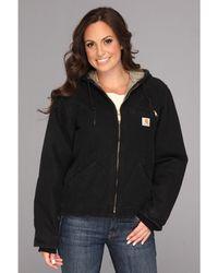 Carhartt - Sandstone Sierra Jacket (deep Wine) Women's Jacket - Lyst