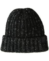 bac4a6fa637 Lyst - The North Face Lambswool Beanie (tnf Oatmeal Heather) Beanies ...