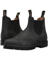 Blundstone - Bl1472 (rustic Black Brogue) Boots - Lyst