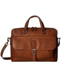Frye - Oliver 2 Handle (slate Smooth Pull Up) Top-handle Handbags - Lyst